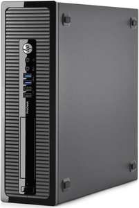 Refurb HP Prodesk 400 G1 SFF PC Core i3 4130 3.4Ghz 1TB Win 10 Home £112.99 -  ITZOO