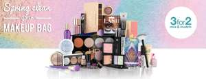 SuperDrug 3 for 2 on all cosmetics and hair products