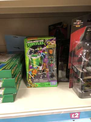 TMNT Megabloks Baxter Mutation Lab set - £2 @ Poundland