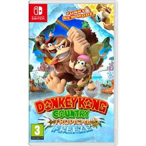 [Nintendo Switch] Donkey Kong Country: Tropical Freeze - £34.99 (C&C) - Smyths