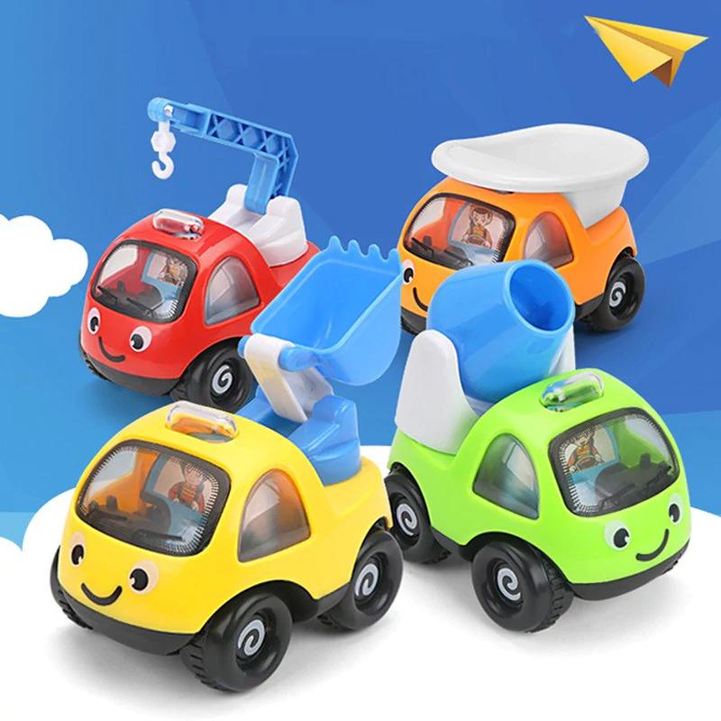 Pack of 4 Mini Pull Back Cartoon Cars £1.81 Del w/code @ Rosegal