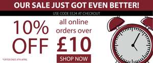 10% off All Orders over £10 with Voucher @ Expert Verdict
