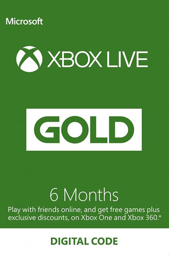 6 Month Xbox Live Gold Membership - £17.09 - CDKeys