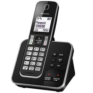 Panasonic KX-TGD320EB Cordless Home Phone with Nuisance Call Blocker and Answering Machine, £29.99 at amazon (Prime Exclusive)