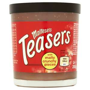 MALTESERS TEASERS CHOCOLATE SPREAD 200G @ Poundstretcher - £1