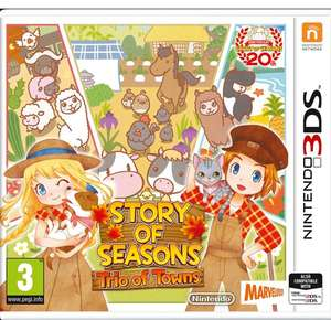 Story of Seasons 2: Trio of Towns £15.99 with prime on amazon UK (£17.98 non Prime)