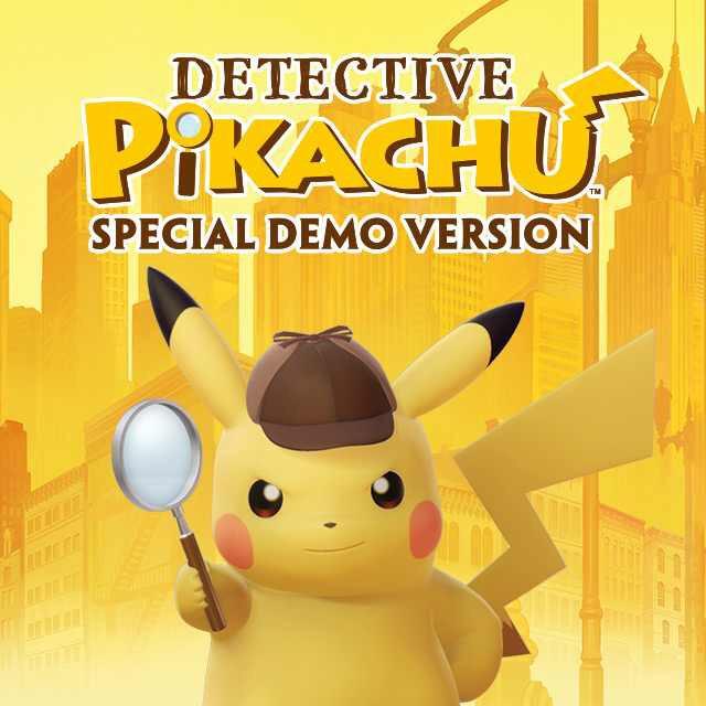 Detective Pikachu Free Demo @ Nintendo Website/eShop (3DS)