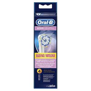 Oral-B Sensi Ultrathin Toothbrush Heads Pack of 4 Replacement Refills for Electric Rechargeable Toothbrush £8.90 (Prime) £12.89 (Non Prime) Sold & Fulfilled by Amazon