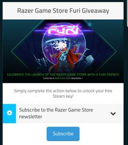 Free Furi Steam Key