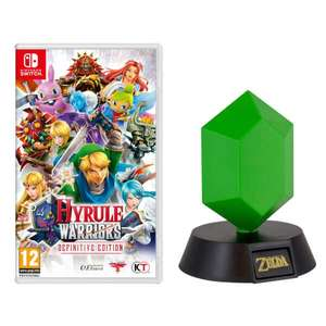 Hyrule Warriors: Definitive Edition + Green Rupee or Triforce Light £49.99 @ Nintendo Store