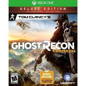Tom Clancys Ghost Recon Wildlands Deluxe edition at MS Store for £20.79 with Xbox Gold
