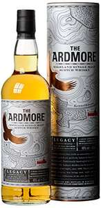 Ardmore Legacy Highland Single Malt Scotch Whisky, 70 cl at Amazon for £20