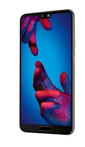 Huawei P20 + £100 Gift Card at amazon.co.uk - 4G Unlocked Mobile Phone (Screen size: 5.8 inches - 128GB - Dual Nano-SIM - Android) Black @ amazon france for £594