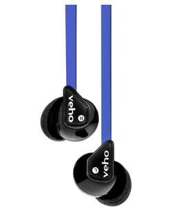 Veho 360 Stereo Noise Isolating Earphones - Blue - 99p (Plus £2.99 P&P) @ IWOOT