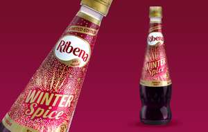 Ribena Winter Spice 850ml bottle 69p at Heron
