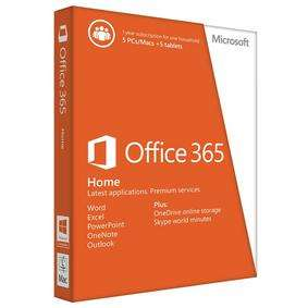 One year subscription of Microsoft Office 365 on 5 PCs - £39.99 @ Maplin