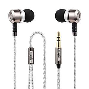 Sephia SP3060 Noise Isolating in-ear Earphones Headphones, HEAVY DEEP BASS Sold by Sephia and Fulfilled by Amazon - £7.85 Prime / £11.84 non-Prime