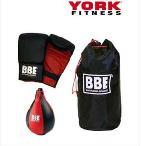 York BBE boxing speedball kit including delivery - £12.50 @ Sweatband