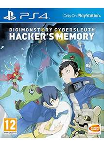 Digimon Cyber Sleuith: Hacker's Memory PS4 £19.85 at Base