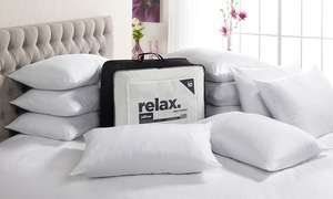 John Cotton Relax Jumbo 10 Pack of Pillows £20 (£1.99 shipping) @ Groupon