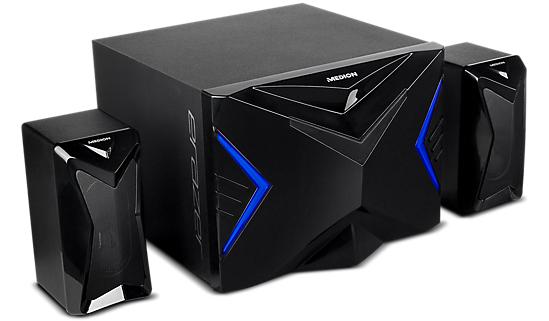 MEDION ERAZER X89015 Gaming 2.1 Subwoofer Sound system(MD 87250) - £19.99 @ Medion