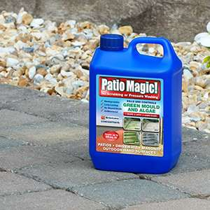 Patio Magic! Green Mould and Algae Killer Liquid Concentrate Bottle, 2.5 L £7.49 Prime / £12.24 Non Prime at Amazon