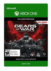 Gears of War: Ultimate Edition Xbox One - Digital Code - £7.99 @ CDKeys