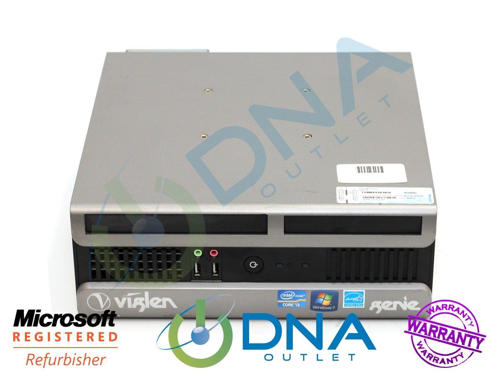 Pre-owned VIGLEN GENIE CORE i3 3220 SFF DESKTOP PC - 3.00GHz/4GB/500GB/WINDOWS 10 PRO - £63.98 @ eBay / dna-outlet