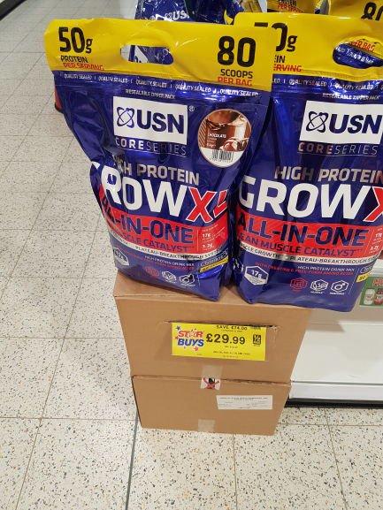 USN Grow XL 4kg - £29.99 @ Home Bargains
