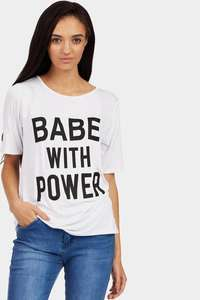 babe with power t-shirt (3 Colours) £2 + £3.99 Del at LOTD
