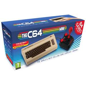 Buy The C64 Mini for £54.99 delivered @ Amazon Prime Now using £10 off code PRIMENOW20