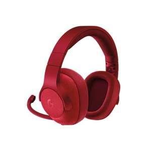 Logitech G433 7.1 Wired Gaming Headset (Red) - Maplin - £47.99