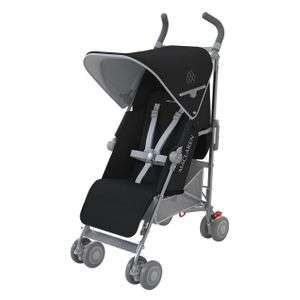 Maclaren Quest Pushchair in Black/ Silver now £129 Del @ Amazon