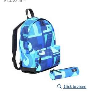 Quiksilver AOP Backpack and Pencil Case - £9.99 @ Argos