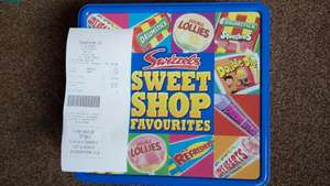 Swizzels Sweet Shop Favourites 750g tin for £1.99 at Poundstretcher