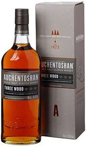 Auchentoshan Three Wood Single Malt Scotch Whisky - £32.90 @ Amazon