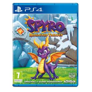 Pre-Order Spyro Reignited Trilogy  £29.99 on PS4 / Xbox One @ 365Games