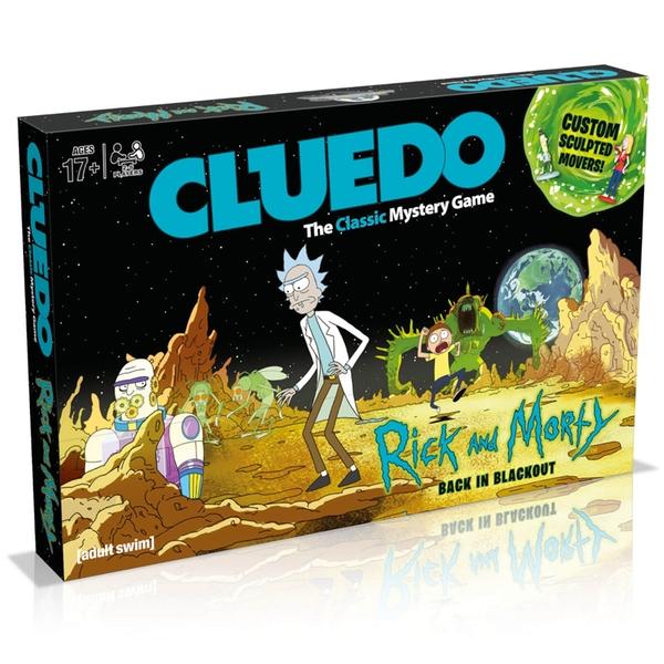 Rick & Morty Cluedo £24.99 Delivered @ 365 Games