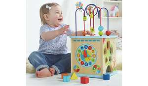 George Home Activity Cube - £16.25 @ ASDA George