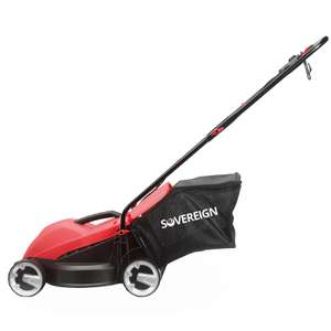 Sovereign 32cm Corded Electric Lawn Mower - 1000w for £29.95 @ Homebase