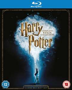 Harry Potter: 8 Film Collection Blu-Ray (Used) £18.39 @ musicMagpie