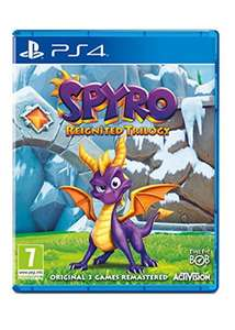Spyro Trilogy Reignited (PS4/Xbox One) £28.99 Delivered @ Base