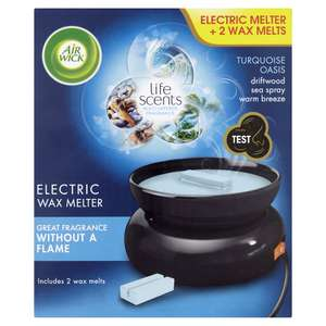 Air Wick Life Scents Electric Wax Melter TurquoiseOasis - £6 @ Wilko