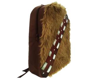 """ee90d13bfd18 Chewbacca (""""Chewie"""") novelty backpack   Argos - £7.49"""