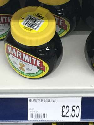 Marmite - £2.50 @ Poundworld