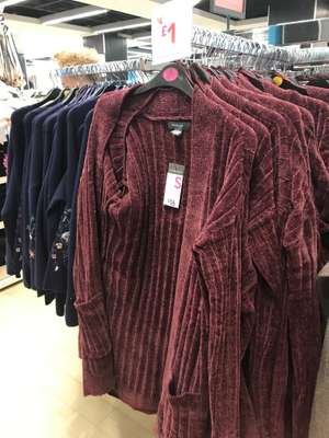 Cardigan reduced from £4 to £1 @ Primark Manchester