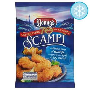 Youngs Scampi 220G now £1.50 at Tesco