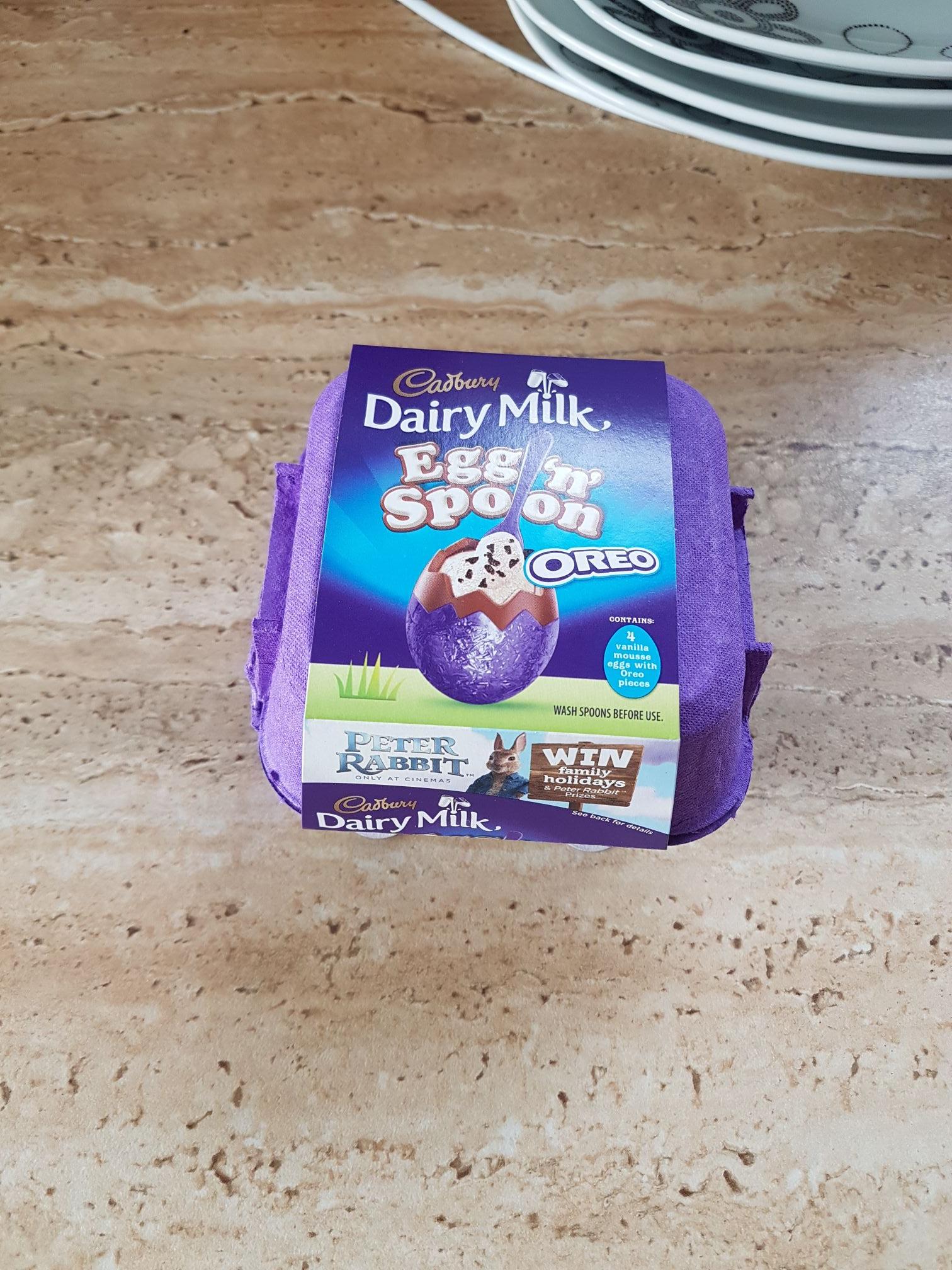 Cadburys Dairy Milk Egg 'n' Spoon Oreo instore at Sainsbury's for 68p