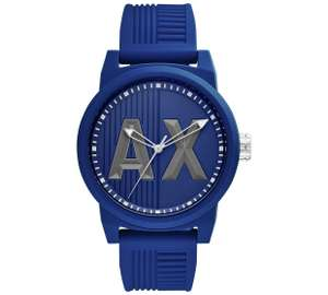 Armani Exchange Men's AX1454 Blue Strap Watchat Argos for £36.99