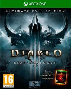 DIABLO III ULTIMATE EVIL EDITION XBOX ONE at Shopto Ebay for £9.85